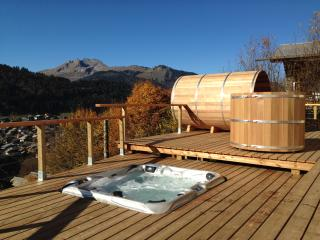Chalet Chelmer - 5 bedroom luxury chalet with breathtaking views & outdoor spa