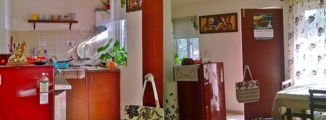 Hall and kitchen - GOAgaga Arpora
