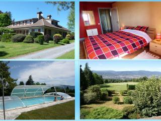 Habitaciones en b&b con piscina comunitaria y cone, Pont-de-Larn