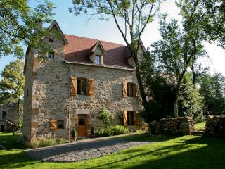 Hameau du Quercy maison charme piscine naturelle, Frontenac