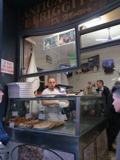 Pizzeria Di Matteo in Via Tribunali (one of the best pizza in Napoli) 700 m. far
