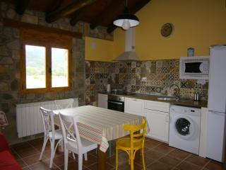 Salón-Cocina con vistas a la montaña