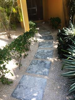 Walk path into ProvoVilla