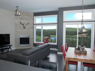 Breathtaking Mountain View Right from Living Room!, Sainte-Emelie-de-L'Energie