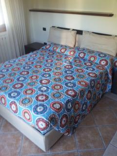 villa bedroom padronale with bathroom inside