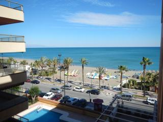 Front line beach 2 beds 2 baths ap in Torremolinos