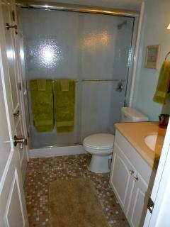 bathroom/large shower