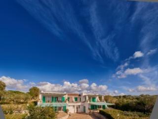 App. Olive in villa con parco, piscina, vista mare, Torre San Giovanni