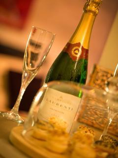 Champagne fines bulles de qualité à Appart Spa 21 Dijon
