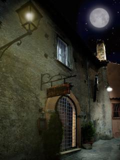Ingresso esterno notte