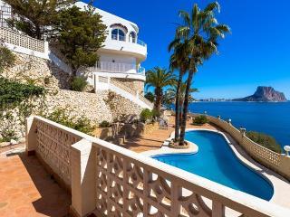 Villa Primera Linea en Calp,Alicante,para 20 huespedes