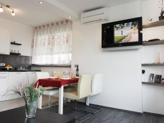 Air condition is in every room and in the living room you can enjoy cable TV with many programmes