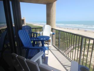 Beachfront 3BR Condo, Top Floor, Corner Unit, Isla del Padre Sur