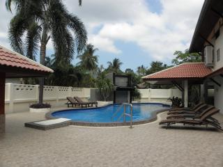 Comfortable Pool Area With 6 Sun Beds