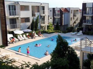 Sea View Apartment in New Line Village complex, Sunny Beach