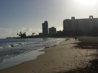 Isla Verde Puerto Rico Ocean View 2 beds on Beach