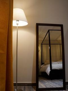 Apartamento NAIROBI. Detalle de la habitación principal