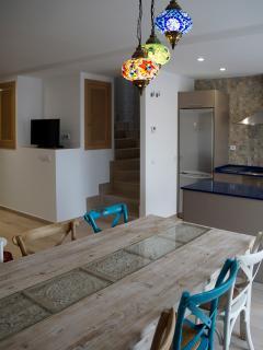 Apartamento AGRA. Cocina abierta al comedor
