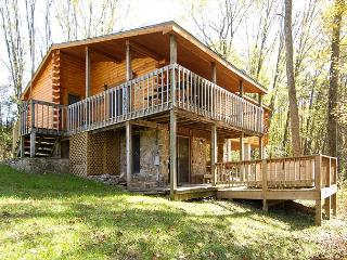 Beautiful country cabin provides cozy comfort at a VERY reasonable rate!!