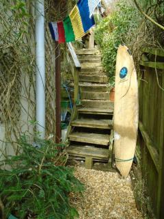 steps to sundeck