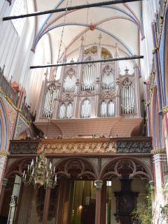 Buchholz-Orgel in der Kirche St. Nikolai