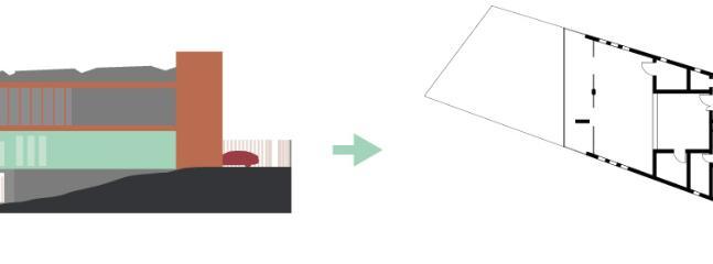 bosquejo del arquitecto