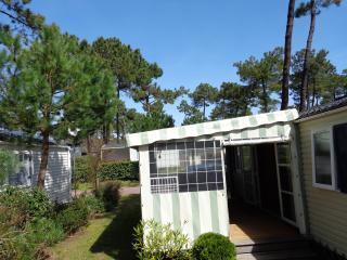 MOBIL HOME 3 ch au calme avec terrasse couverte, La Palmyre-Les Mathes