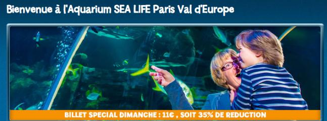 Bie,venue à Sea Life