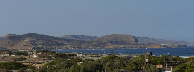 vista de la terraza del paisaje