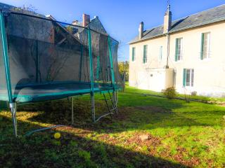 In the Heart of the Loire Valley, Huge Trampoline!