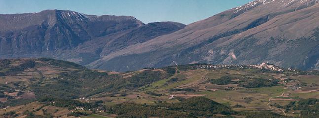 Vista da monte Pallano