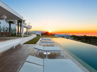 Sunset from Villa Amnalys is truly beyond description!