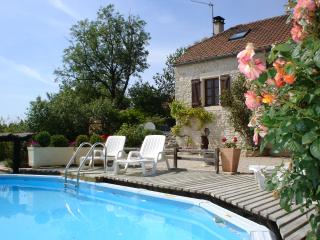 La Grange, farmhouse with private pool and garden, Salviac