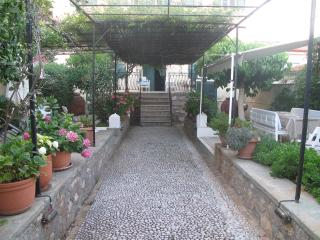 Garden entrance walkway