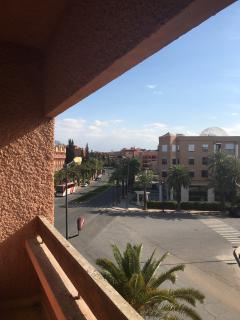 la vue du 2eme balcon