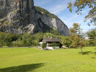 Private Chalet by Trümmelbach Falls, Lauterbrunnen