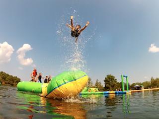 Splash Park para crianças Ilha