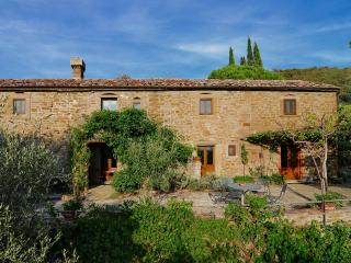 Large Stone Farmhouse in the Hills Near Cortona - Villa Eleonora