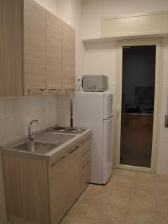 Zona servizi soggiorno/cucina