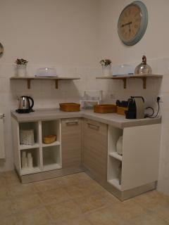 Zona buffet soggiorno/cucina
