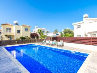 Oceanview Villa 040 - 3 bed - private gated pool, Ayia Napa