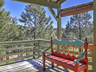 New Listing! Exceptional 2BR Ruidoso Townhome w/Wonderful Views from the Spacious Deck! Great Location - Just Minutes from Skiing, Lakes, Golf, Hiking, Casinos & More!