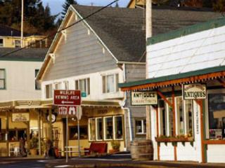Charming village of Wheeler, famous for antiques
