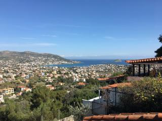 Summer house with Amazing View, Porto Rafti