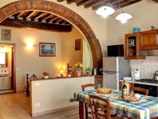 Typical apartment in the heart of Tuscany.