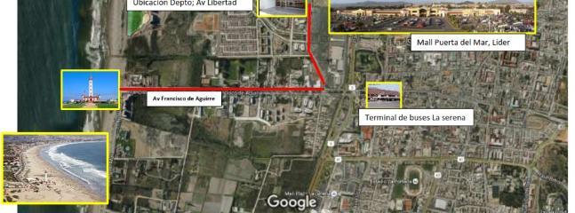 Plano general de la ubicacion del depto