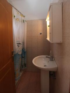 Bathroom in the apartment