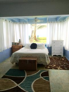 Dayroom with a beautiful view of the ocean!