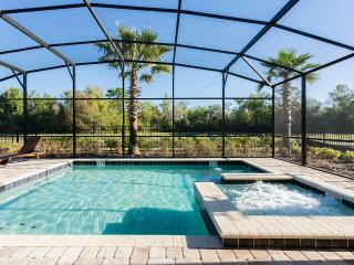 Heritage Rock Spring - 9br, Pvt Screened Pool/Spa, Grill, FREE Waterpark Access