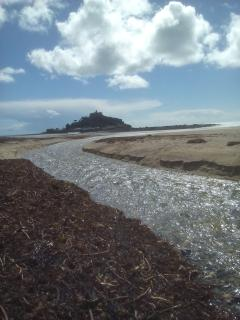 St. Michael's Mount is just twenty minutes drive. Why not walk over the causeway at low tide?